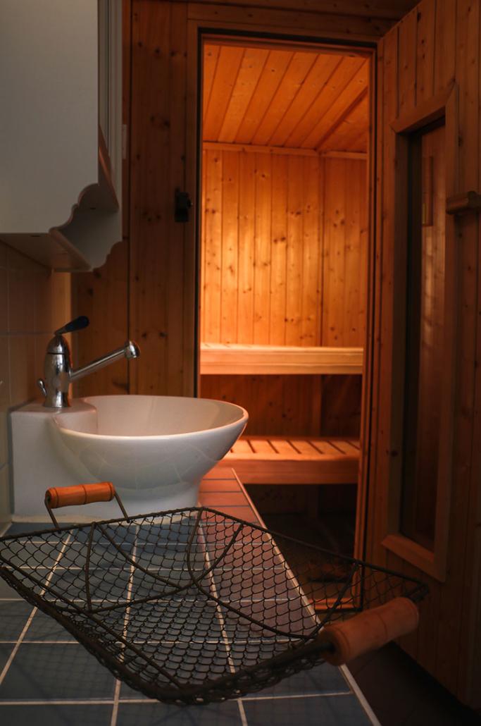 Sauna - Alter Schwede Gästehaus Dranske