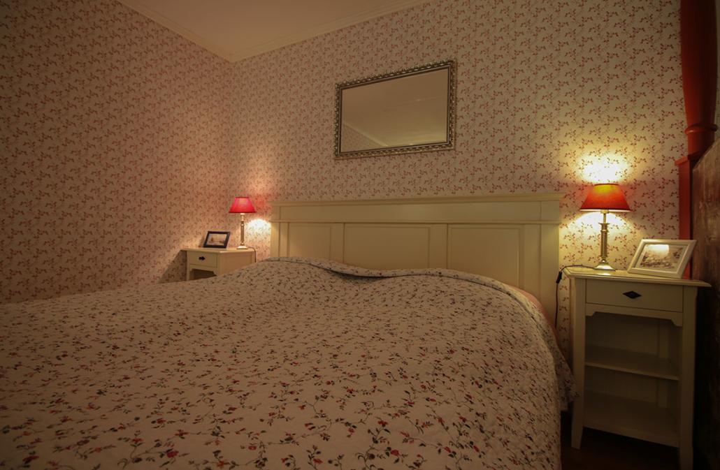 Doppelbett - Alter Schwede Gästehaus Dranske