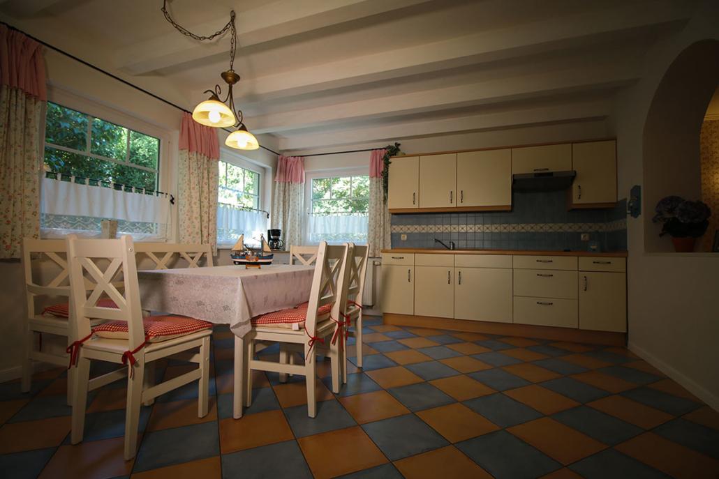 Küche - Alter Schwede Gästehaus Dranske
