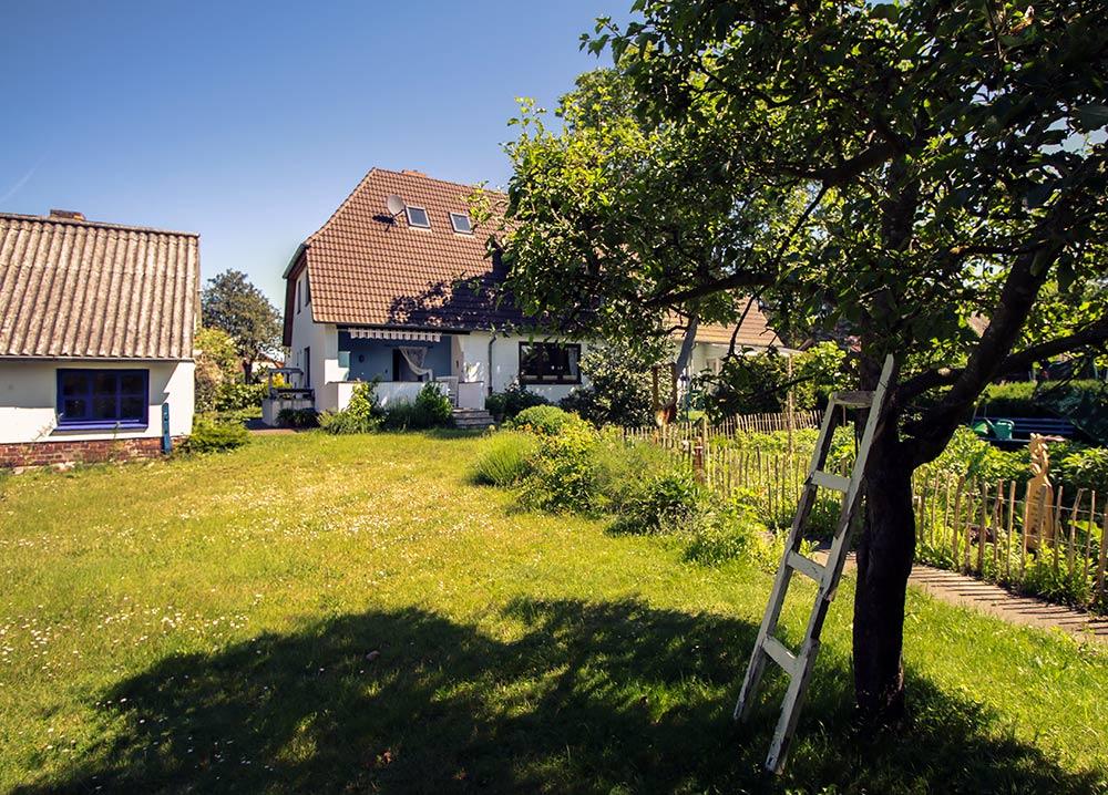 Ferienhaus mit Garten - Alter Schwede Dranske