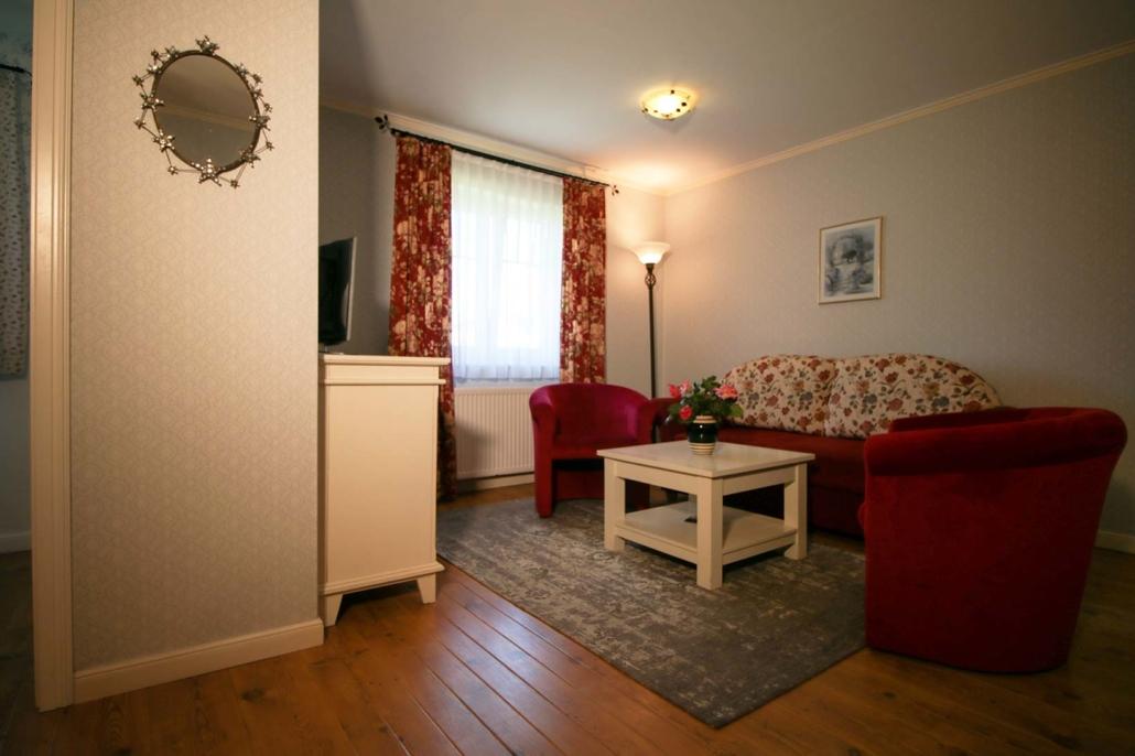 Wohnzimmer Ferienwohnung Typ 3