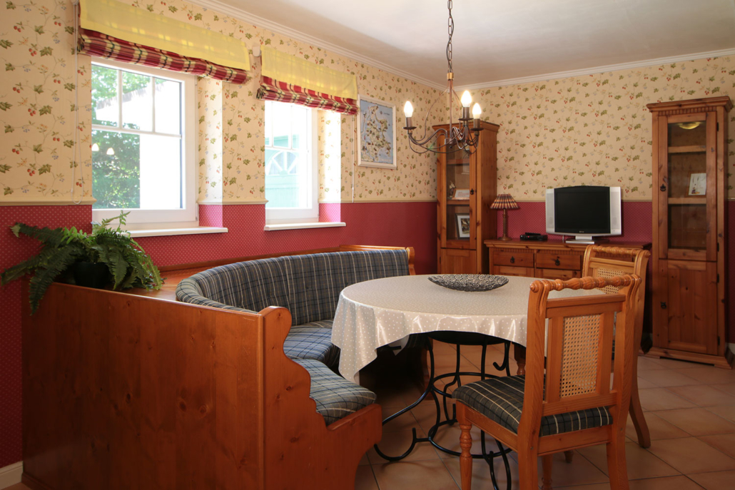 Komfortabler Wohnbereich - Gästehaus Alter Schwede